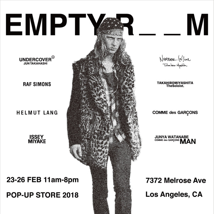 POP-UP STORE 2018 IN LA
