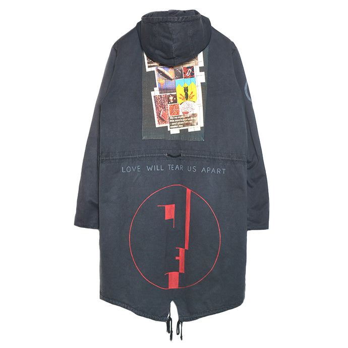 RAF SIMONS : CLOSER FISHTAIL PARKA