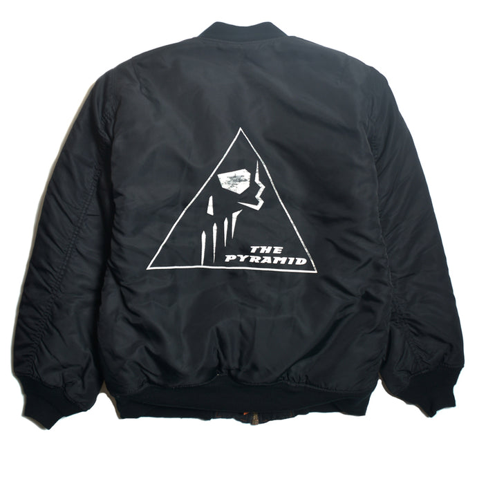 RAF SIMONS :  THE PYRAMID BOMBER  JACKET
