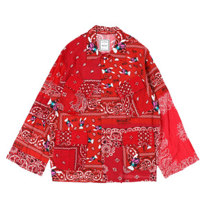 BANDANA J.F SHIRTS / RED
