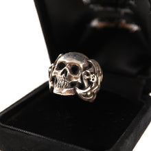 MAGICAL DESIGN SKULL RING