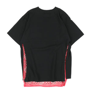 BANDANA BACK TEE / BLACK