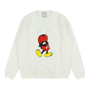 SKOCKEY SWEATER / WHITE