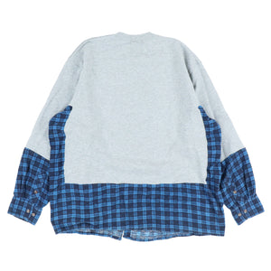 SKOLOCT SHIRTS DOCKING SWEATER / GREY