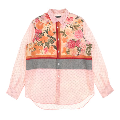 FLOWER SILK SHIRTS