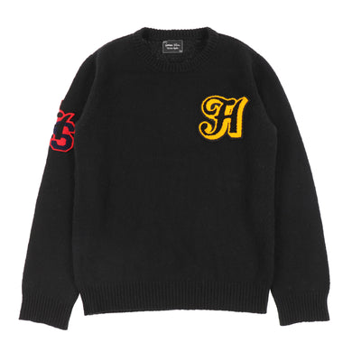 THS PATCHED SWEATER