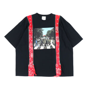BANDANA ZIP TEE / ABBEY