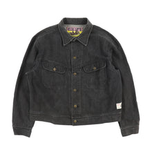PATCH BLACK DENIM JACKET