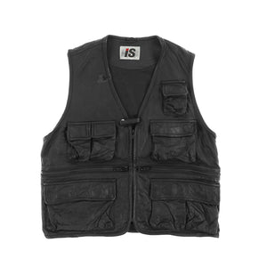 IS HUNTING LEATHER VEST