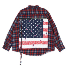 BANDANA BAG FLANNEL SHIRTS / USA