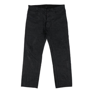 ARTISANAL COATED JEANS