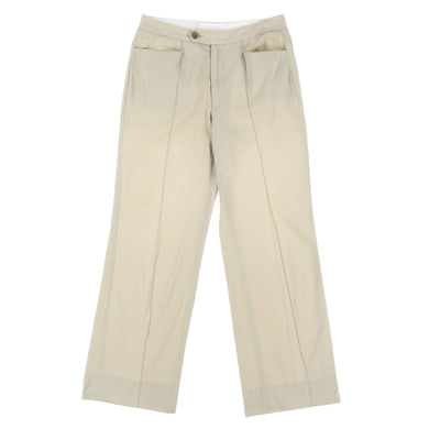 CENTER PLEATS PANTS