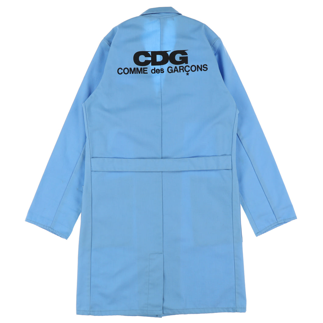 CDG LOGO SHOP COAT