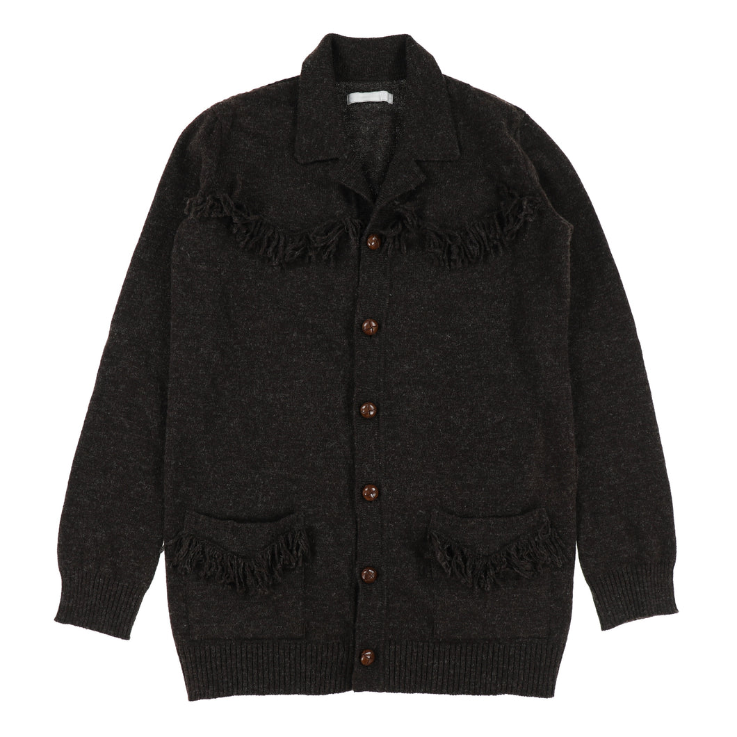 FRINGE WOOL SHIRTS