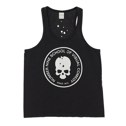 SCHOOL OF VISUAL COMEDY TANK TOP