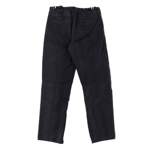 COATED BIKER PANTS