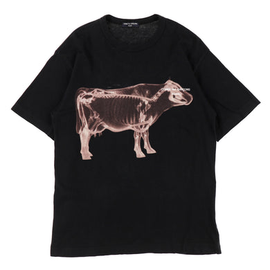 SKELETON COW TEE