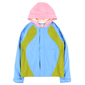 MULTI COLOR ZIP PARKA
