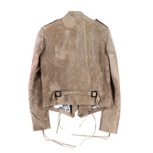 DAMAGED NAPOLEON LEATHER JACKET