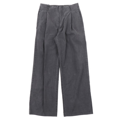 2004SS PLEATED WIDE PANTS