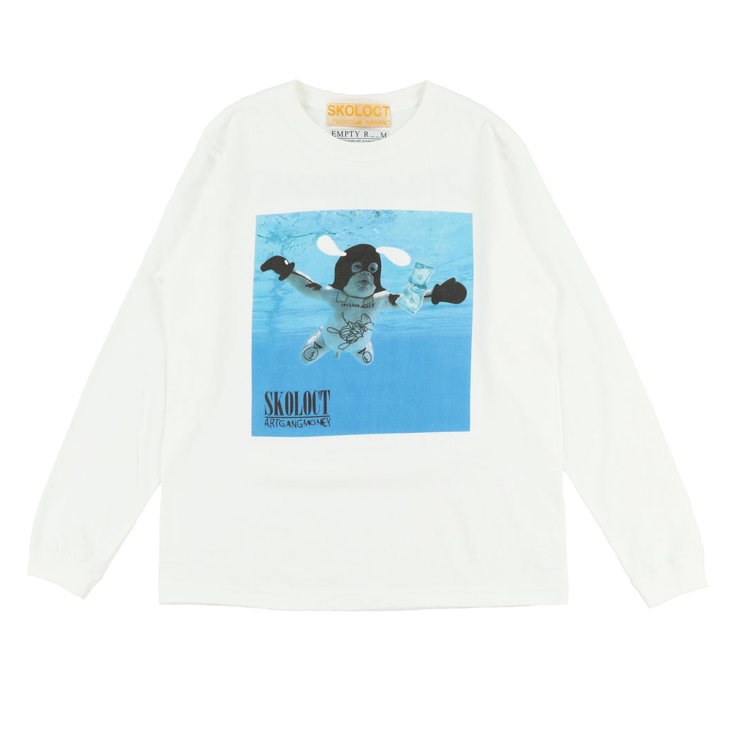 EXCLUSIVE SKORVANA NEVERMIND LS TEE