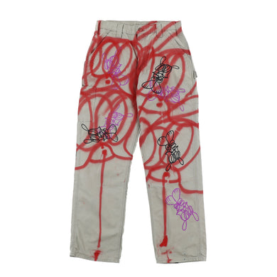 EXCLUSIVE 1 OF 1 PAINTED PANTS 1