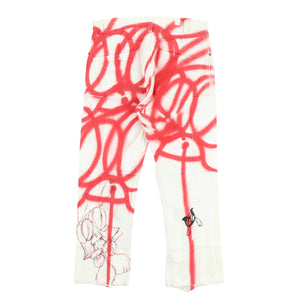EXCLUSIVE 1OF1 PAINTED LEVI'S RECONSTRUCTED JEANS