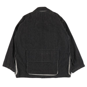 IS CARE LABEL LOGO JACKET