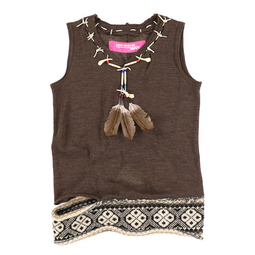 NATIVE NO SLEEVES KNIT