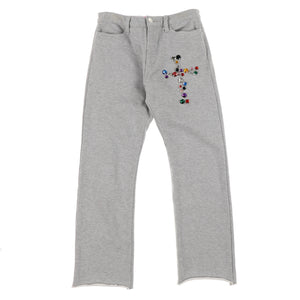 CROSS STUDS SWAT PANTS