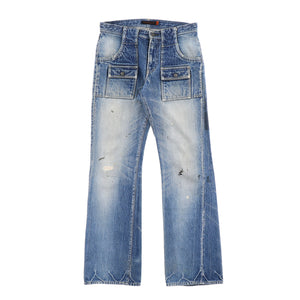 T BOOT CUT JEANS