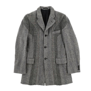 CURVE TWEED COAT