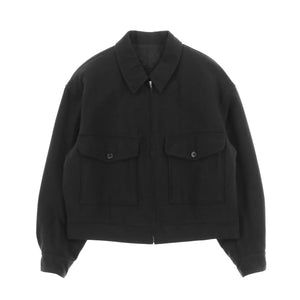 SHORT MILITARY BLOUSON