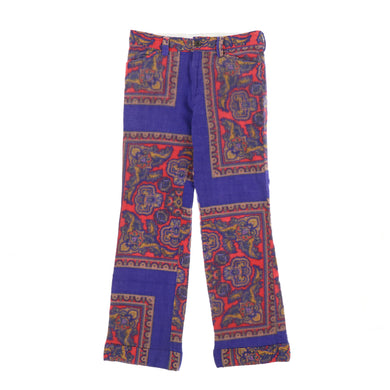PHYCHEDELIC WOOL PANTS