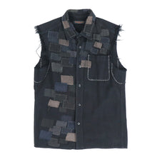SCAB PATCHED SLEEVELESS SHIRTS
