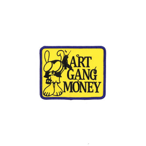 ART GANG MONEY PATCH PIN BADGE
