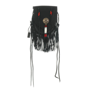 05 LEATHER FRINGE BAG