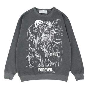 FOREVER SWEAT SHIRTS / Black
