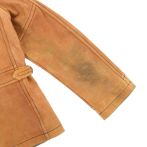 DEER SKIN HUNTING JACKET