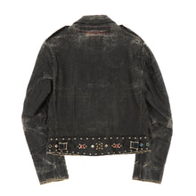 LEWIS LEATHERS STUDS COTTON JACKET