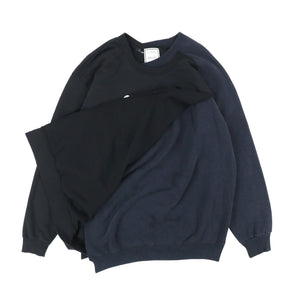 CROSS SWEAT / BLACK