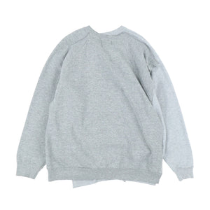 CROSS SWEAT / GREY