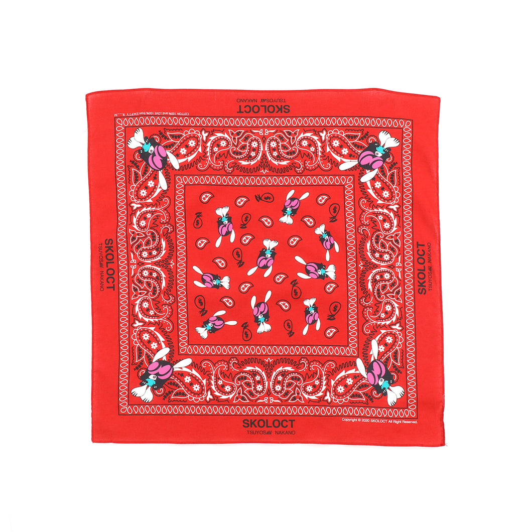 SKOLOCT BANDANA / RED