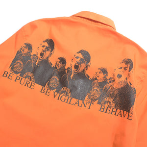BEHAVE SHORT SLEEVES SHIRTS