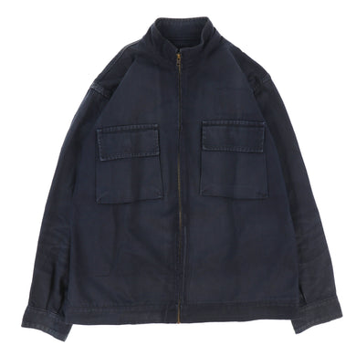 ARTISANAL STITCH MILITARY COTTON JACKET