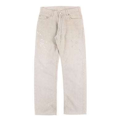 CORDUROY PAINTER JEANS