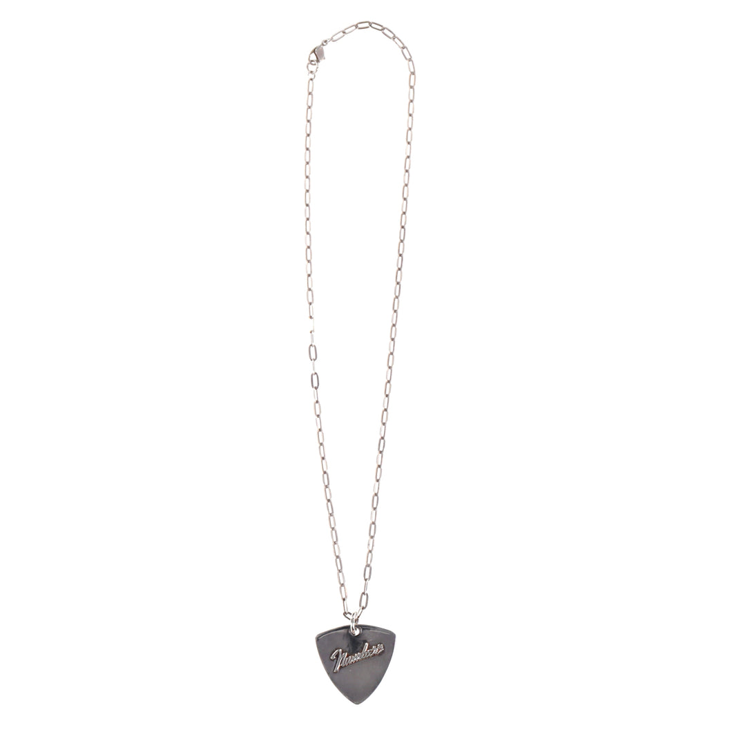 FENDER LOGO GUITAR PICK NECKLACE