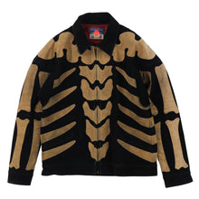 BONE SUEDE JACKET