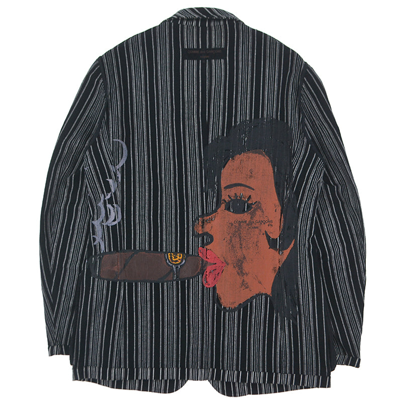 SMOKING LADY PAINTED JACKET