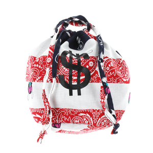 $ BANDANA KINCHAKU BAG / USA
